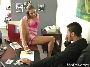 Working the boss` Daughter