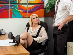 Ash Hollywood - Naughty Office