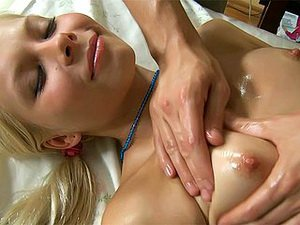 Hot and exciting massage